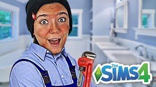 REFORMEI MINHA CASA E ME LASQUEI! - Do Lixo ao Luxo 2 (The Sims 4)