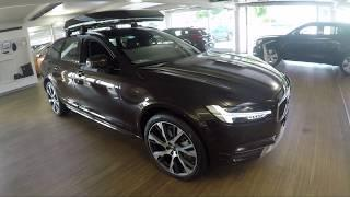 New Volvo V90 2018 Cross Country CC D5 Pro AWD 235 HP Diesel Review