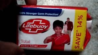 Unboxing of life boy soap