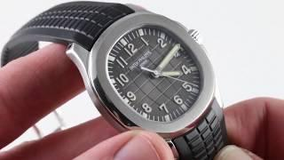 Patek Philippe Aquanaut 5167A-001 Luxury Watch Review