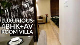 Luxurious 4BHK plus AV Room Villa near Marathahalli Bangalore   Luxury House Tour!