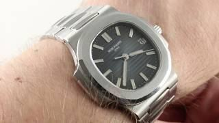 Patek Philippe Nautilus (MID SIZE!) 5800/1A-001 Luxury Watch Review