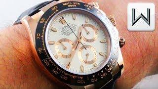 Rolex Daytona Ceramic Gold (116515LN) Cosmograph Daytona Luxury Watch Review