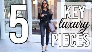 5 key pieces to start your luxury collection | Isabelle Ahn