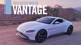 2019 Aston Martin Vantage Review Road Test Test Drive