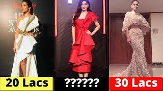 Pakistani Actresses Most Expensive Dresses at Hum Style Awards 2018 - Aiman Khan, Iqra Aziz, Farhan