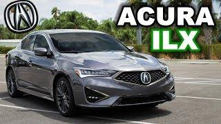 The BEST-LOOKING Luxury Sedan? 2019 Acura ILX A-Spec Review