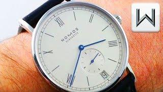 Nomos Glashutte Ludwig Date (Reference 271) Luxury Watch Review