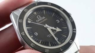 "Omega Seamaster 300m ""Spectre"" 233.32.41.21.01.001 Luxury Watch Review"