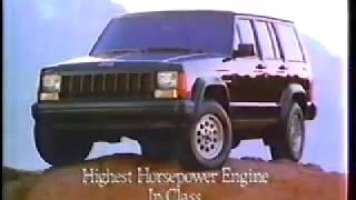 Commercial Block:Jeep Cherokee/Coleman Lanterns/Pert Shampoo June 1991