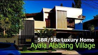 Luxury Modern Home With Swimming Pool For Sale In Ayala Alabang Village, Metro Manila, Philippines
