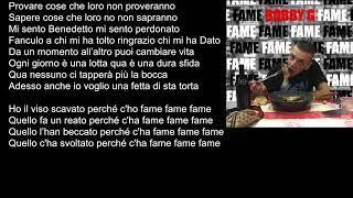 Bobby G - FAME - (Official Lyric Video)