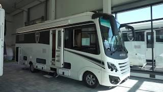 Luxury German RV tour : Morelo Loft Liner
