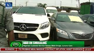 Nigerian Customs Service Seizes Illicit Drugs, Luxury Cars