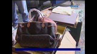 24 Oras: Mga pekeng luxury bag, sigarilyo at iba pang produktong kontrabando, nasabat ng Customs