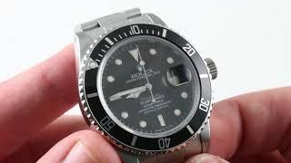 "Rolex Submariner ""Tiffany Dial"" (VINTAGE) 16800 Luxury Watch Reviews"
