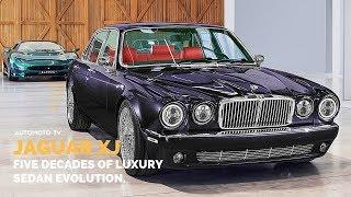 Jaguar XJ50 Five Decades Of Luxury Sedan | Evolution.