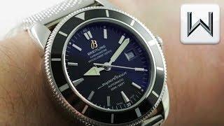 Breitling SuperOcean Heritage (Mesh Bracelet) Dive Watch A1732124/BA61 Luxury Watch Review