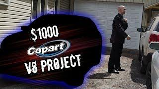 I bought a Luxury V8 for $1000 at Copart