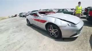 Thousands Of Luxury Cars Are Abandoned In Dubai