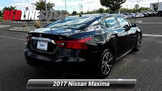 Used 2017 Nissan Maxima SL, ,  DEMO449179