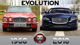 JAGUAR XJ - 50 Years of Luxury Cars Evolution (1968-2018)