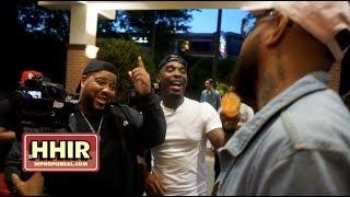 HITMAN HOLLA, CHARLIE CLIPS, MATH HOFFA & JOHN JOHN DA DON HILARIOUS MOMENT AFTER THE RBE FACE OFFS