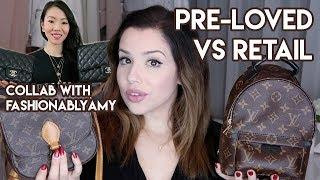 LUXURY HANDBAGS: PRE-LOVED VS. RETAIL (COLLAB WITH FASHIONABLYAMY)