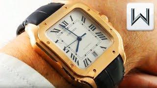"2018 Cartier Santos De Cartier ""Santos Large"" WGSA0011 Luxury Watch Review"