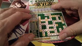 Bonus Scratchcard game..V.I.P....LUXURY LINES..MONEY SPINNER