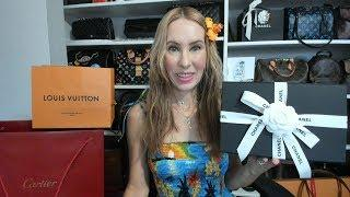 MASSIVE LUXURY HAWAII UNBOXING!!! Chanel, Cartier, Hermes, Louis Vuitton