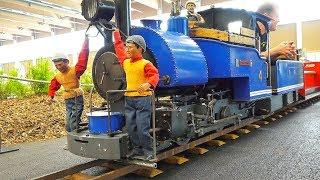 MEGA XXXL MODEL LOCOMOTIVES, MODEL SCALE TRAINS, RAILWAY RAILROAD LIVE STEAM ACTION
