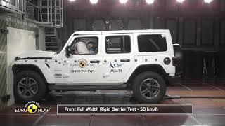 Jeep Wrangler Crash Test Euro NCAP | December 2018 Ratings