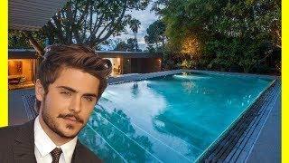 Zac Efron House Tour $2700000 Hollywood Hills Luxury Lifestyle 2018