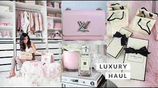 LUXURY HAUL! LOUIS VUITTON, DIOR AND JO MALONE????