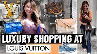 LUXURY SHOPPING VLOG AT LOUIS VUITTON ???? - SEE ALL THE NEW ITEMS!