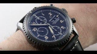 2018 Breitling Navitimer 8 Chronograph Black Steel M13314101B1X1 Luxury Watch Review