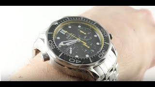 Omega Seamaster Diver 300m Regatta Chronograph 212.30.44.50.01.002 Luxury Watch Review