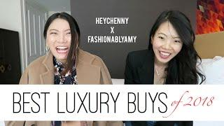 BEST LUXURY PURCHASES OF 2018 ft. HeyChenny! | FashionablyAMY