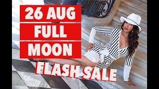 Access spiritual luxury and opulence + Full Moon 26 August