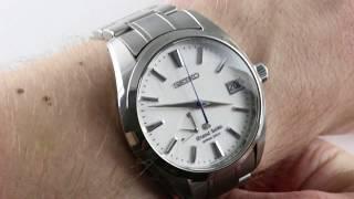 "Grand Seiko ""Snowflake"" (Gen I) Spring Drive SBGA011 Luxury Watch Review"