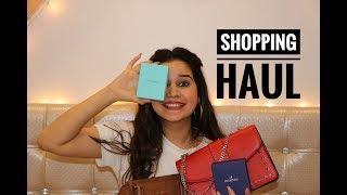 SHOPPING HAUL | LUXURY  | KATE SPADE | TIFFANY | MK | Shivshakti Sachdev