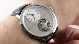 Arnold & Son UTTE Tourbillon 1UTAG.S04A.C121G Luxury Watch Review
