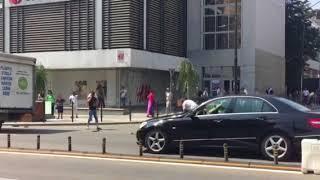 Accident in centrul mun Ramnicu Valcea