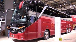 2019 Setra Top Class S516 HDH 42-Seat Luxury Coach - Exterior, Interior Walkaround - 2018 IAA