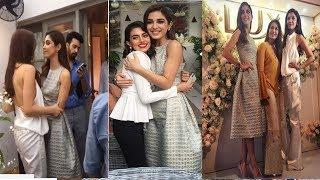 Mahira Khan &&  Maya Ali && Reema Khan at Lux Tvc Launch Event