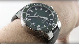 Oris Aquis Date GREEN CERAMIC (4157-07 5 24 10EB) Luxury Watch Review