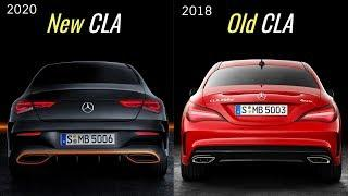 2020 Mercedes CLA vs Old Mercedes CLA (2018)