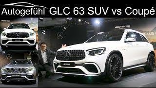 Mercedes GLC 63 S AMG SUV vs Coupé comparison REVIEW Exterior Interior Facelift 2020
