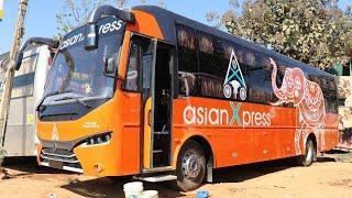 asianXpress Premium Sleeper Bus Prakash CAPELLA Ashok Leyland| Luxury Bus Interiors & Exteriors 2019